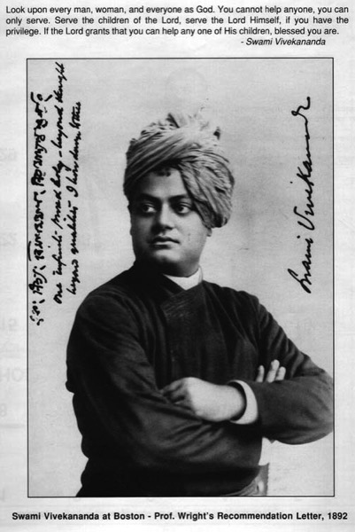 Swami Vivekananda in Boston