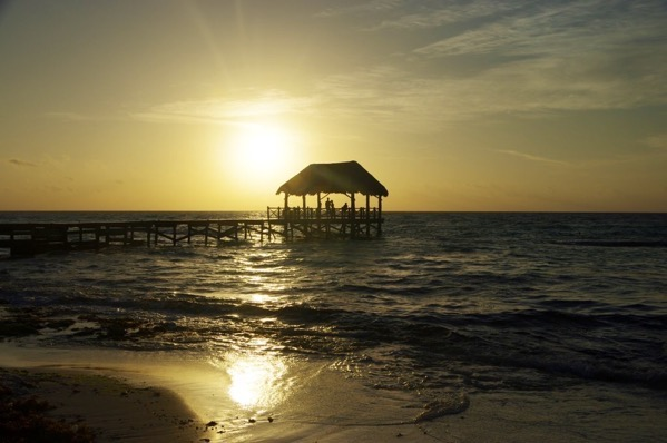 Sunrise on Riveria Maya